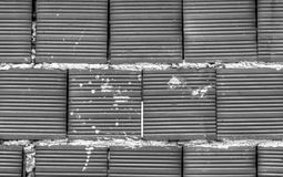 Brick wall background in black and white. Stylish brick wall background in black and white stock photos