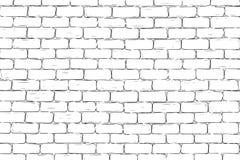 Brick wall background. Hand drawn Vector illustration stock illustration