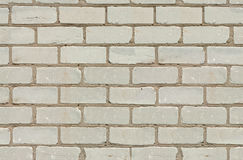 Brick wall background. Classic light gray brick wall texture background, seamless, tiling Royalty Free Stock Photo