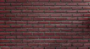 Brick wall background. Classic red brick wall background Royalty Free Stock Photography