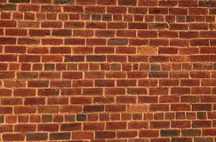 Brick Wall Background. Close up of old red brick wall for backgrounds stock photos