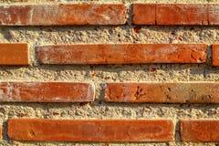 Brick wall background closeup view. Beautiful brick wall background closeup view royalty free stock image