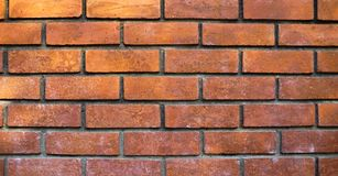 Brick wall background. Brick wall and floor as background Stock Photography