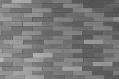 Brick wall background1. Gray brick wall background pattern Royalty Free Stock Photography