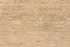 Brick wall background, grungy rusty blocks of stonework. Architecture wallpaper Royalty Free Stock Photography