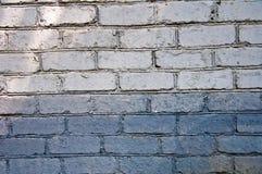 Brick wall background. Light Grey brick wall background Stock Photo