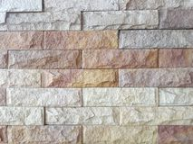 Brick wall background, Multi-colored bricks stock photos