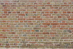 Brick Wall background. Old Brick Wall as a background Royalty Free Stock Photo