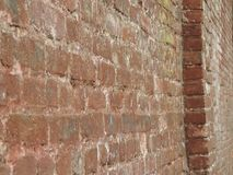 Brick wall. Background of old building Royalty Free Stock Photography