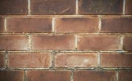 Brick wall background. Old brick wall close up Royalty Free Stock Photo