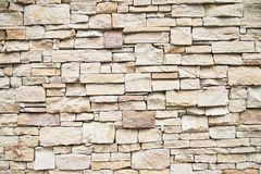 Brick wall background, old condition, vintage Royalty Free Stock Images