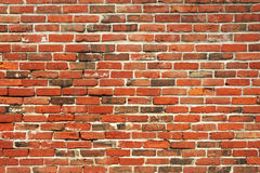 Brick wall background. Old brick wall background for design Stock Image