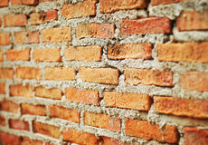 Brick wall background. Old and Dirty Brick wall background Royalty Free Stock Photo
