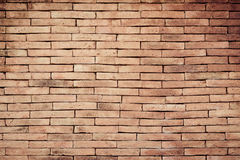 Brick wall background. Old grain brick wall background Royalty Free Stock Photos
