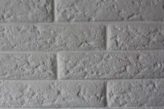 Brick wall background. / old gray bricks/ background for interior or exterior Stock Image