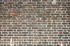 Brick wall background. Old large weathered distressed red brick wall background Royalty Free Stock Images