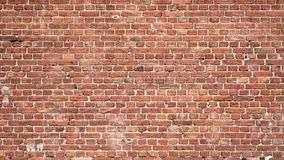 Brick wall background. Old red brick wall texture for background Stock Photo