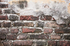 Brick wall. Background of old brick wall texture Stock Photos