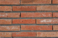 Brick Wall. Background with orange red and yellow tones Stock Photography