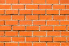 Brick wall background. Brick wall orange background texture Royalty Free Stock Photography
