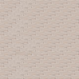 Brick wall background, pattern for continuous replicate. EPS10, Don't use transparency Royalty Free Stock Photography
