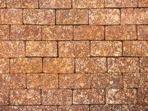 Brick wall background. Pattern of large brick wall background Stock Photo