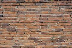 Brick wall background. Red orange brick wall texture background Stock Photos