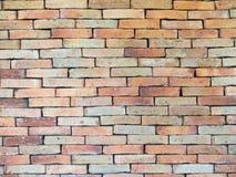 Brick wall background. Red brick wall pattern background Stock Photography