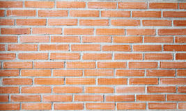 Brick wall. Background of red brick wall texture Royalty Free Stock Images