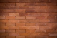 Brick wall background. Red brick wall texture background Royalty Free Stock Photography