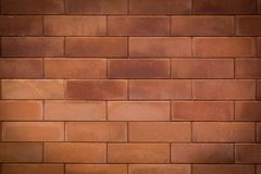 Brick wall background. Red Brick wall Texture background Royalty Free Stock Photo