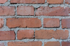 Brick Wall Background. Red Brick Wall Background or texture Royalty Free Stock Image