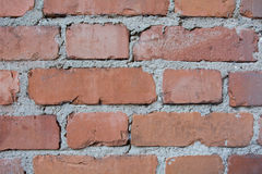 Brick Wall Background. Red Brick Wall Background or texture Royalty Free Stock Photos