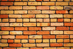Brick wall background. Royalty Free Stock Photography