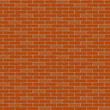 The  brick wall. Background. Stretcher bond Stock Image