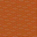 The  brick wall. Background. Stretcher bond Stock Image