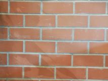 Brick wall background. Texture of brick wall for background royalty free stock image