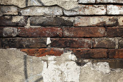 Brick wall background texture Royalty Free Stock Images