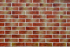 Brick wall background - texture Stock Photo