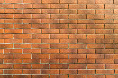 Brick wall background texture. Which have a gradation of dark and light colors in each brick Royalty Free Stock Photography