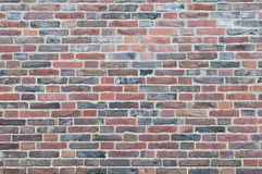 Brick wall. Background with textured effect from a red brick wall Royalty Free Stock Image