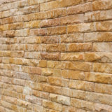 Brick wall background used decorate Stock Image