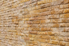 Brick wall background used decorate Royalty Free Stock Photography