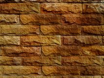 Brick wall background used decorate home. texture background. Royalty Free Stock Photography