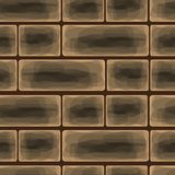 Brick wall background, vector illustration Stock Photo