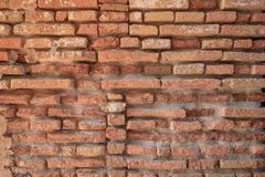 Brick wall background. Stock Photos