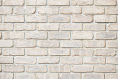Brick wall background. The wall of the white tile Stock Photo