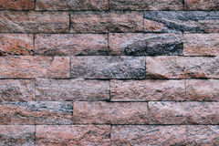 Brick wall backgrounds normal color Royalty Free Stock Image
