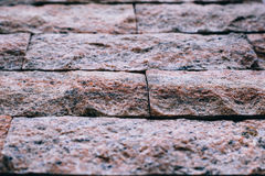 Brick wall backgrounds normal color Royalty Free Stock Photography