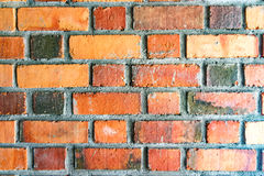 Brick wall backgrounds red bricks stock images